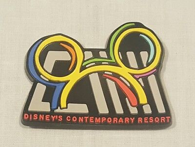 Disney's Contemporary Resort Laser Cut Magnet - Collectable New Old Stock