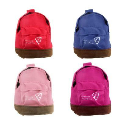 4 Colors Backpack Shoulder Bag for 1/6 Scale Dolls House Miniature Accessory