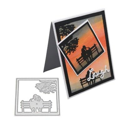 Lovers Metal Cutting Dies Stencil Scrapbooking Embossing Paper Card Home Decor