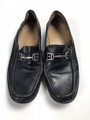 7514b28478ca7 BALLY FRANCE BLACK Patent Leather Tuxedo Loafers Men s Size 8.5 M ...