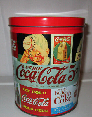 700 piece coca cola puzzle in collectors tin