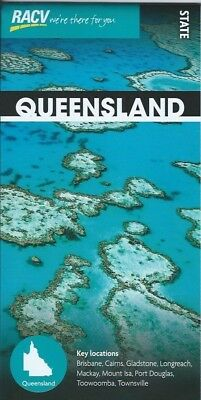 RACV Queensland State Tourist Map