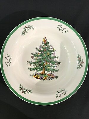 Spode Christmas Tree.Spode Christmas Tree S3324 A2 Serving Plate Made In England 12 Inch