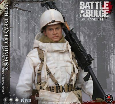 Soldier Story 1/6 SS-111 U.S. Army 28th Infantry Division 1944 Ardennes  New