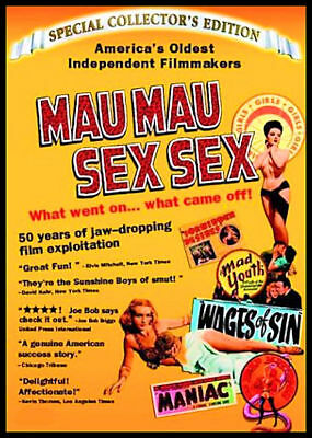 MAU MAU SEX SEX - Extremely Rare Documentary of Exploitation Film - OUT-OF-PRINT