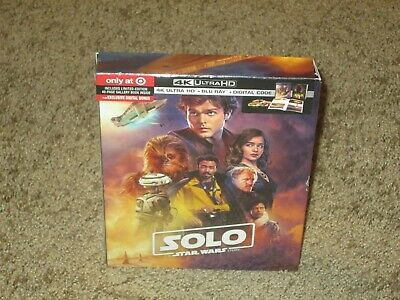 Solo: A Star Wars Story Target exclusive 4K UHD Blu-Ray + Digital + 40 page book