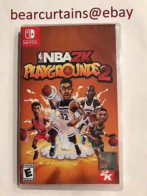 Nba 2K Playgrounds 2 Switch Nintendo Brand New Sealed Fast Ship with Tracking