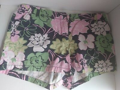 Bundle of 4 J. Crew Summer Shorts Colorful Beach Bottoms  Sz 6 SEE PICS👀