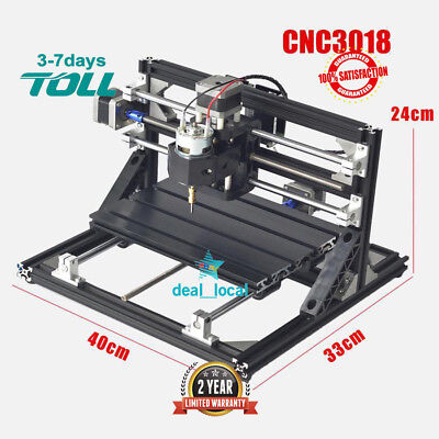 Mini 3 Axis DIY Milling Carving CNC3018 CNC Router/laser Engraving Machine