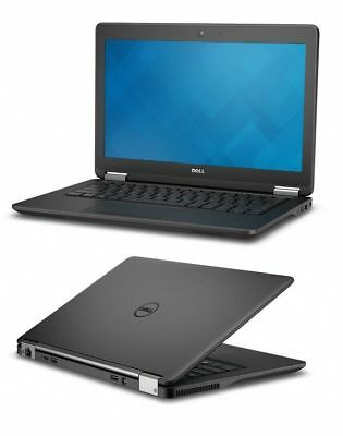 "Dell Latitude E7250 i7 5600u 2.6Ghz 12.5"" Non Touch - 8GB Ram 256GB SSD Win 10 P"