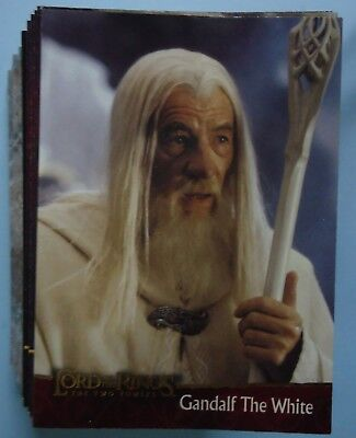 2002 Topps Lord of the Rings 'The Two Towers' - 88 of 90 Cards