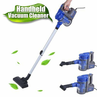700W Powerful Vac Handstick Handheld Bagless Stick Vacuum Cleaner Blue AUSTOCK
