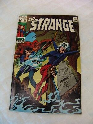 "Doctor Strange #176_January 1969_Very Fine_""O Grave Where Is Thy Victory?""!"