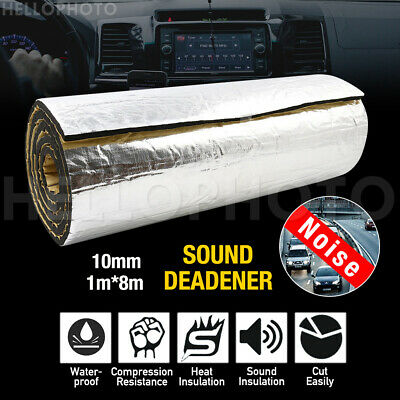 1M x 4.5M 7MM Sound Deadener Heat Proof Insulation Noise Proofing Foam Car Auto