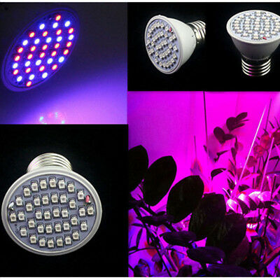 36 LED Grow Light E27 Growing Bulb Lamp for Plant Indoor Greenhouse Hydroponic