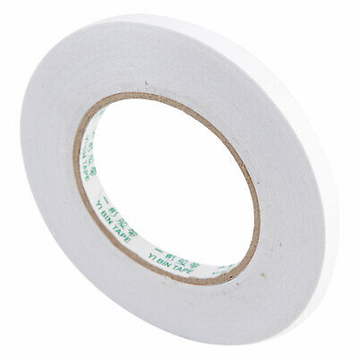 Strong Self Adhesive Clear Double Sided Sticky Tape DIY Craft Wrap 10mm 50M