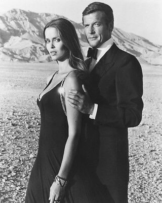 Barbara Bach / Roger Moore 10 X 8   Inch   Photo  . Lovely  Image W