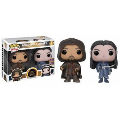 POP! Movies - The Lord of the Rings: Aragorn & Arwen 2-Pack