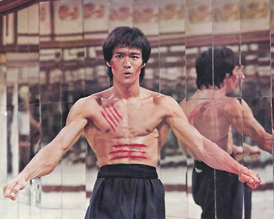 Bruce Lee  10 X 8   Inch   Photo  . Lovely  Image A