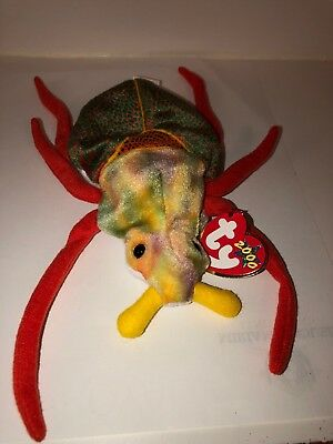 5909e4f77f1 TY BEANIE BABY ~ SCURRY the Beetle (6.5 Inch) NWT -  2.40