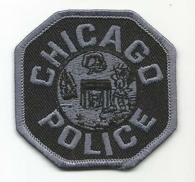 Chicago ILLINOIS IL Police patch SWAT Tactical small subdued