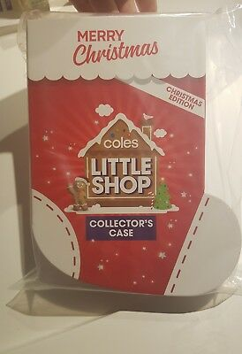 Coles Little Shop Collectable Christmas Edition Case