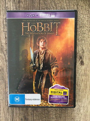 Hobbit - The Desolation of Smaug (DVD, 2014) very good condition