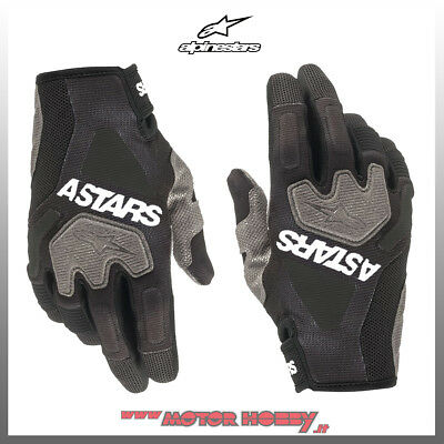 Guanto Cross Enduro Alpinestars Venture R Gloves Black White Taglia L