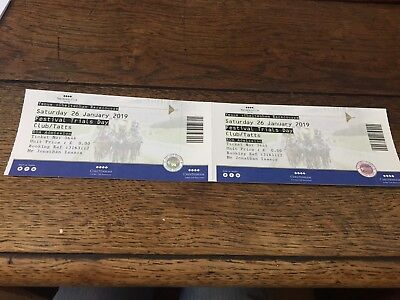 Cheltenham Racecourse Festival Trials 2 Ticket Race 26th Jan 2019 Club Enclosure