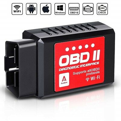 Scanner WIFI OBD2 OBD II Auto Diagnosi Wireless per iPhone IOS Android Windows