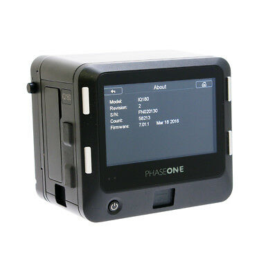 Phase One IQ 180 80MP Digital Back Kit Hasselblad H Fitting