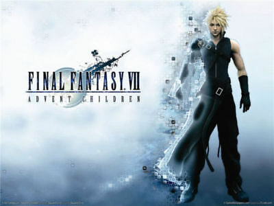 """Final Fantasy FF7 Classic Characters Wall Art Print Game 32""""x24"""" Poster F004"""