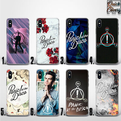 Panic At The Disco Brendon Urie Logo Thin Uv Case Cover For Iphone