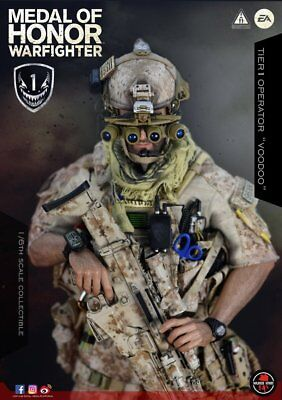 Soldier Story 1/6 SS106 Medal Of Honor Navy SEAL Tier One Operator Voodoo New