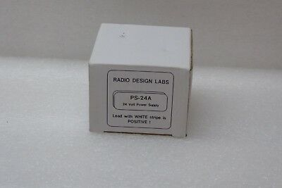 NEW Radio Design Labs, PS-24A, 24vdc, Power Supply