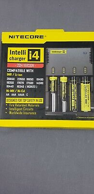 Nitecore IntelliCharger i4 Battery Charger - 2014 Version - NEW In Box See pics