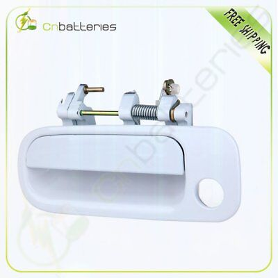 For 92-96 TOYOTA CAMRY Exterior Outside Front Left LH Driver Door Handle White