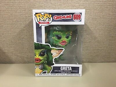 Funko Pop Movies Greta # 609 Gremlins Vinyl Figure Without Box