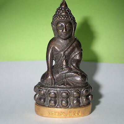 PRA KRING BUDDHA MEDICINE Statue Amulet Blessed Lucky Love Health Protection