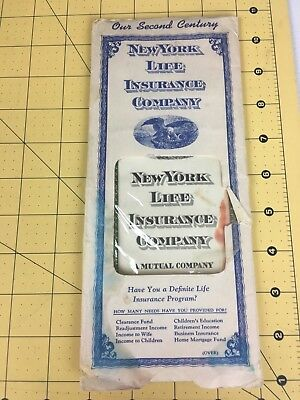 New York Life Insurance Company 1946 $1000 Life Policy w/Beneficary Change Form