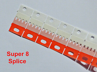 50 Super 8 Splice tape for joining film with Agfa Bonum QuikSplice Hama Splicers