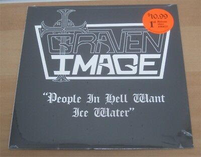 """GRAVEN IMAGE: People in hell want ice water 12"""" US RE Private Power Metal Gem"""