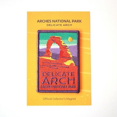 MAGNET Patch - Arches National Park  - Delicate Arch Utah Official Product