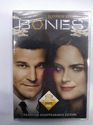 Bones TV Series Complete 11th Eleventh Season 11 Eleven NEW 6-DISC DVD SET