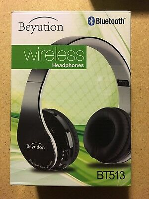 NEW BT513 WIRELESS Bluetooth Headphones For Cell Phone