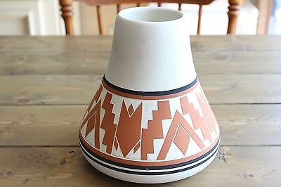 1996 Sioux Pottery Vase Signed S. Thunder