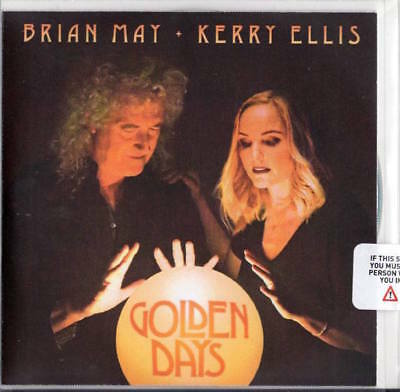 Brian May & Kerry Ellis SEALED PROMO CD ALBUM Golden Days QUEEN
