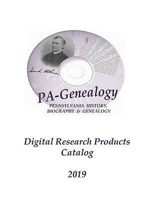 2019 - Digital Library on Pennsylvania for Genealogical / Historical Research