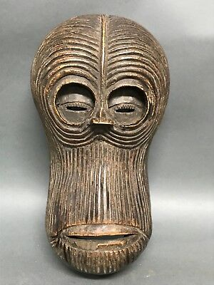 African Art Bulu Mask