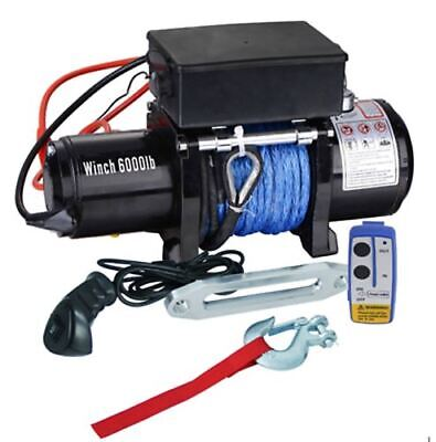 Winch, 6000lb Industrial Machinery Winch, Electric Truck Winch 12 v, 2 remotes